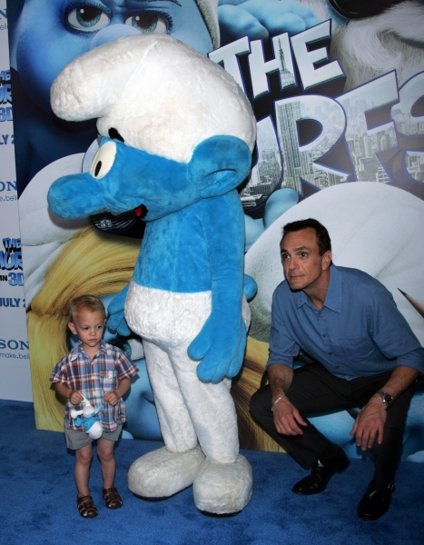 Hank Azaria  at SMURFS Premieres in New York City