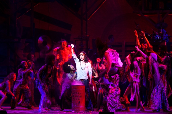 Photo Flash: HAIR Plays the St. James - New Production Shots!