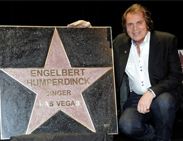 Engelbert Humperdinck Gets Star on Las Vegas Walk of Stars