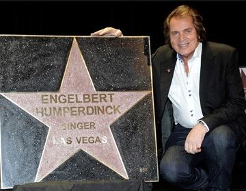 Engelbert Humperdinck Gets Star on Las Vegas Walk of Stars