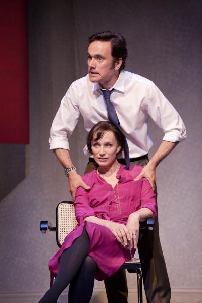 Kristin Scott Thomas and Ben Miles