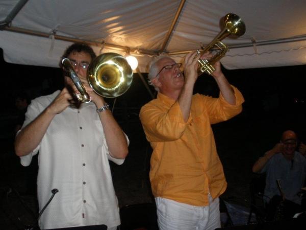 Brass players Michael Davis & Jim Hynes