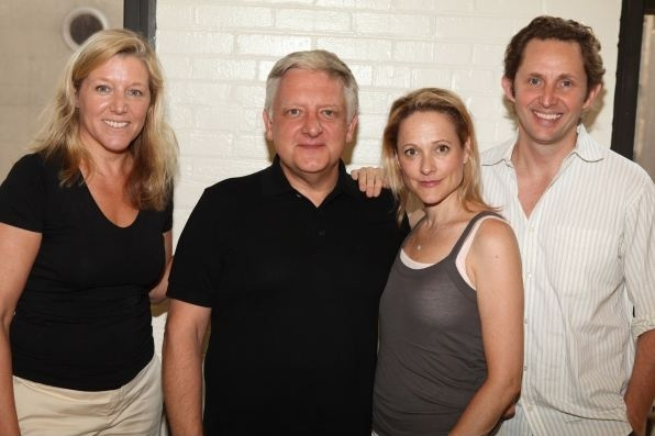 Mary McCann, Russell Beale, Kate Blumberg, Todd Weeks at In Rehearsal with ATC's BLUEBIRD