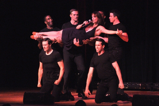 Julia Murney, Adam Perry, Kevin Munhall, Grasan Kingsberry, David Hull, MichaelJon Slinger and Anthony Wayne