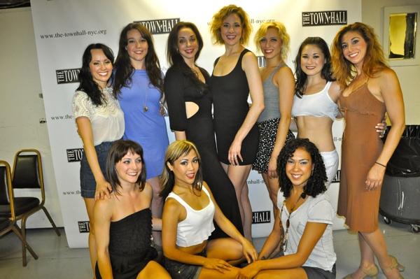 Lorin Lattaro (Choreographer) and the ladies ensemble Photo