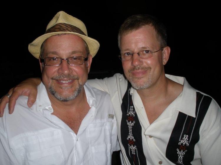 High Res Michael Bush & Michael Aman