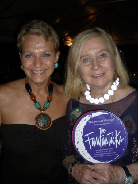 Christine De Lisle & Pat Addiss Photo