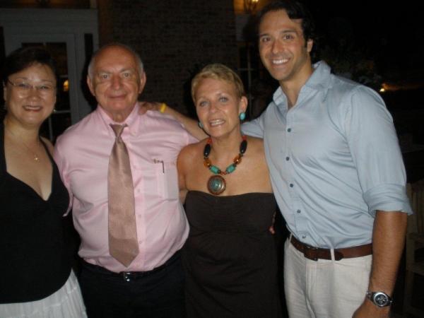 Xlaoyi & Kenneth Harris, Christine De Lisle, Jeremiah James Photo