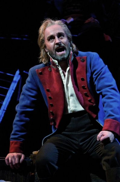 Alfie Boe at First Look at New Cast of West End's LES MISERABLES