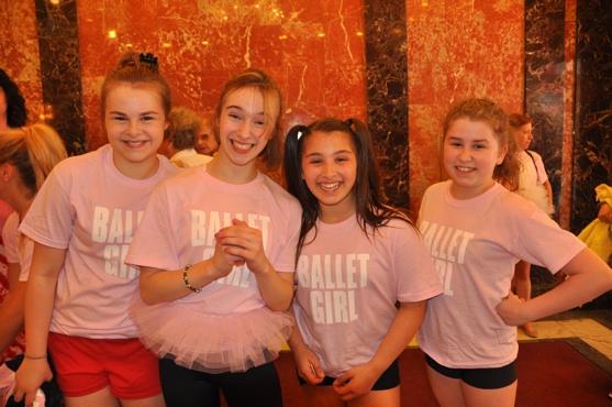 Ruby Rakos, Kayla Vanderbilt, Annabelle Kempf and Brianna Fragomeni Photo