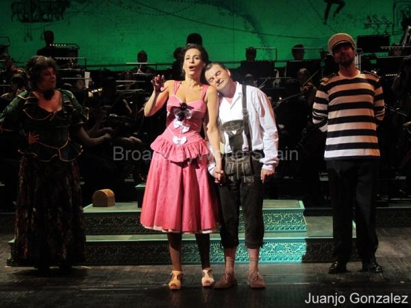 Eva Diago, Maria Rey-Joly, Toni Comas y Cesar Sanmartin Photo