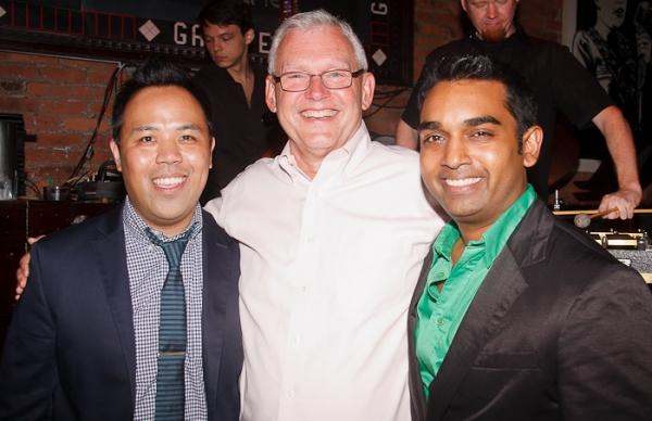 Robert Tatad, Ken Arthur, and Devanand Janki