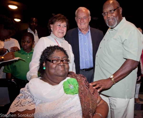 Ann Atwater , Sydell & Lee Blatt (Sponsors), Bill Riddick Photo