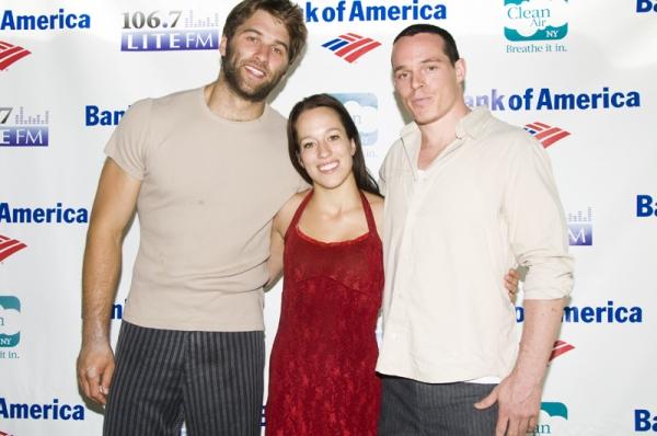 Mason Ames, Valerie Benoit-Charbonneau & Bradley Henderson