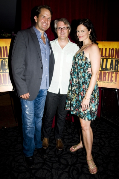Photo Coverage: MILLION DOLLAR QUARTET Re-opens at New World Stages