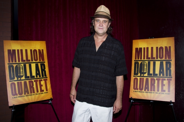 Lance Guest at MILLION DOLLAR QUARTET Re-opens at New World Stages