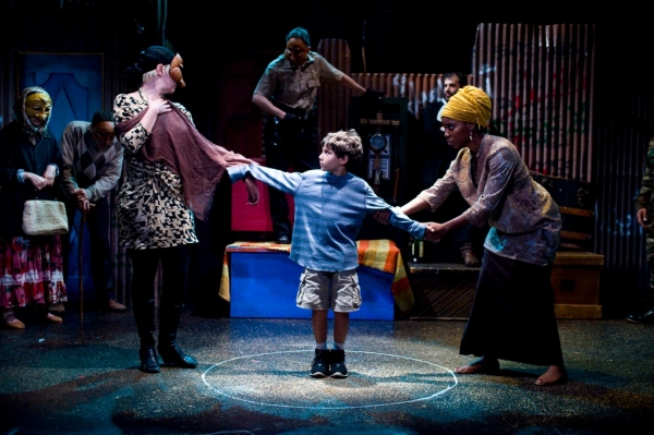 Photo Flash: Sonnet Rep's CAUCASIAN CHALK CIRCLE