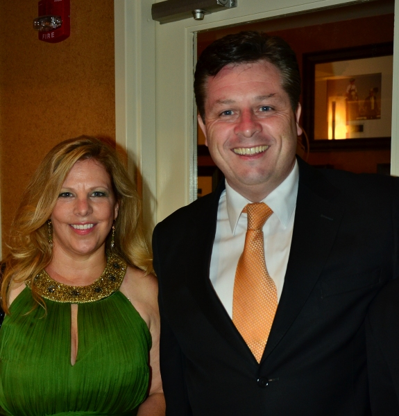 Publicist Kirsten Fedewa and Anthony Kearns Photo