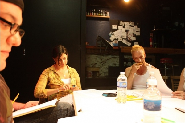 Photo Flash: In Rehearsal with Horse Trade's EIGHTYTHREE DOWN