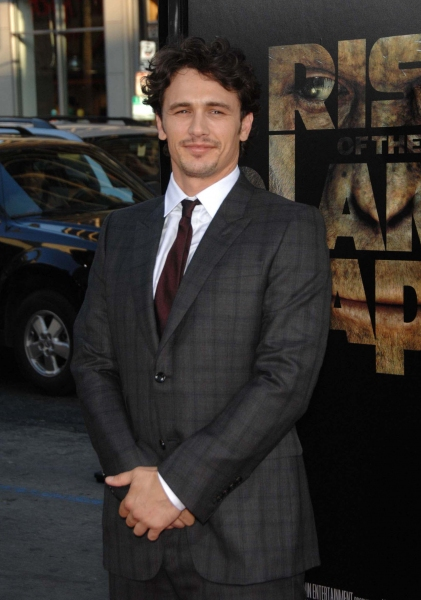 James Franco  at LA Premiere of 'Rise of the Planet of the Apes'