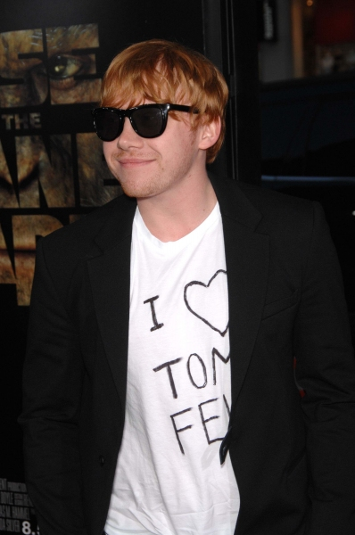 Rupert Grint  at LA Premiere of 'Rise of the Planet of the Apes'