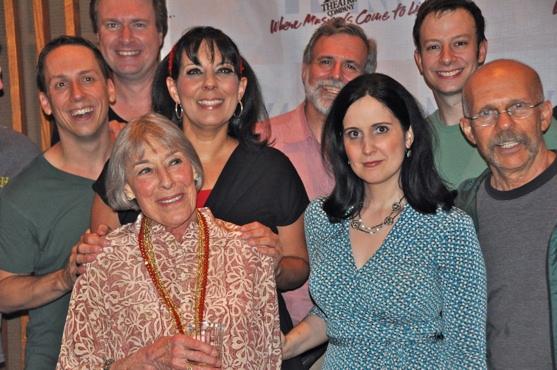 Steven Strafford, Christine Pedi, Tally Sessions, Mary Rodgers and Stephanie D'Abruzz Photo