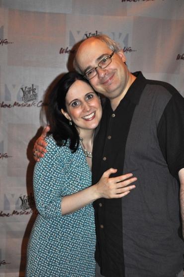 Stephanie D'Abruzzo and her husband Craig Shemin Photo