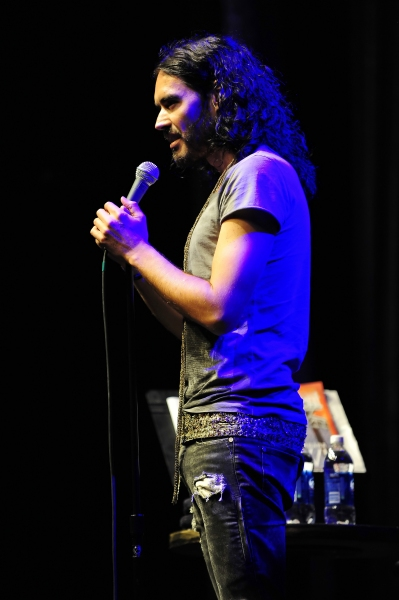 July 28, 2011. Comedian/Russell Brand performed a live show at the Chumash Casino Resort in Santa Ynez, CA.(Credit Image: at Russell Brand Performs at Chumash Casino Resort