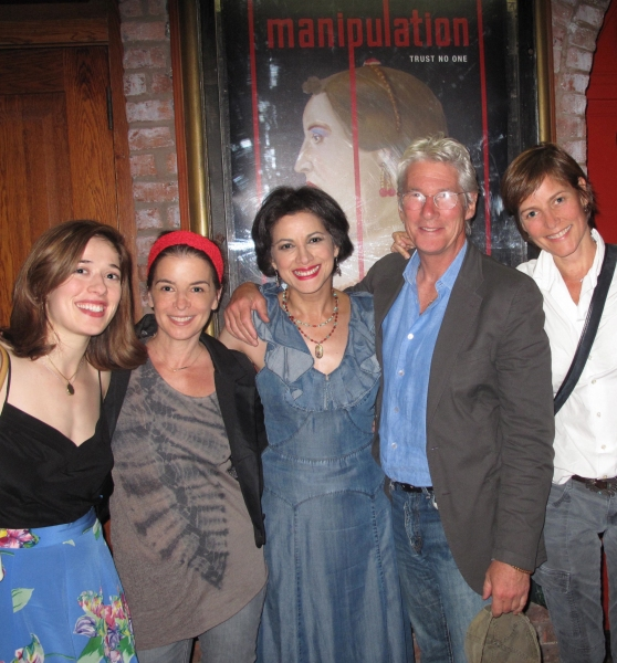 Marina Squerciati, Annabella Sciorra, Saundra Santiago, Richard Gere and Carey Lowell at Gere, Sciorra, Lowell et al. Attend MANIPULATION