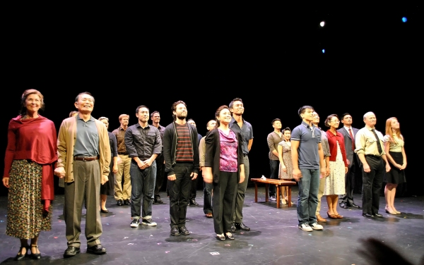 Photo Exclusive: Salonga, Takei, Leung Lead ALLEGIANCE Workshop Presentation