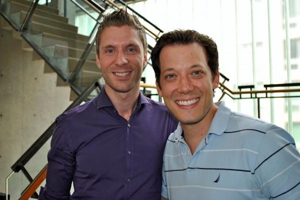 Lorenzo Thione with guest John Tartaglia