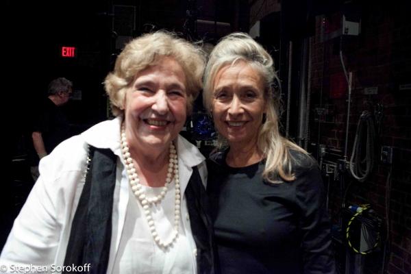 President Lola Jaffe & Eda Sorokoff