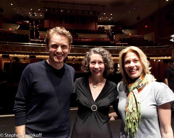 Jason Danieley, Executive Director Beryl Jolly, Marin Mazzie
