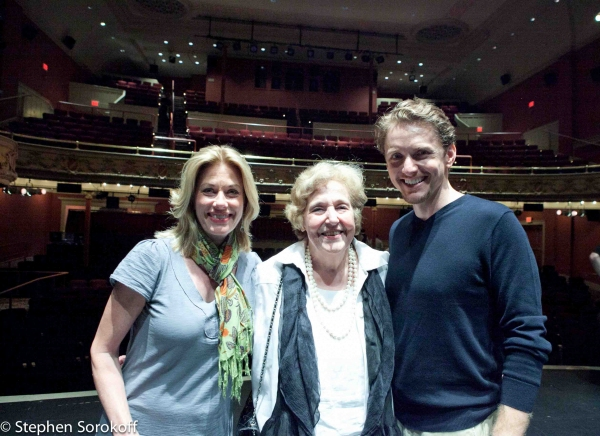 Marin Mazzie, Lola Jaffe (Founding President & Chair), Jason Danieley
