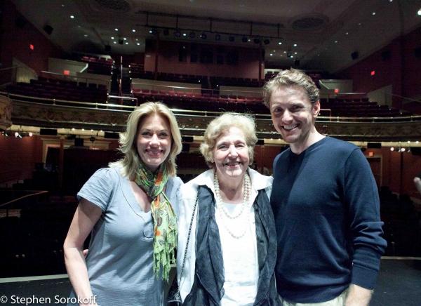 Marin Mazzie, Lola Jaffe (Founding President & Chair), Jason Danieley Photo