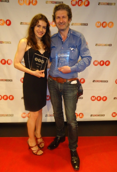 Photo Flash: THE COUPLE Wins Award of Merit