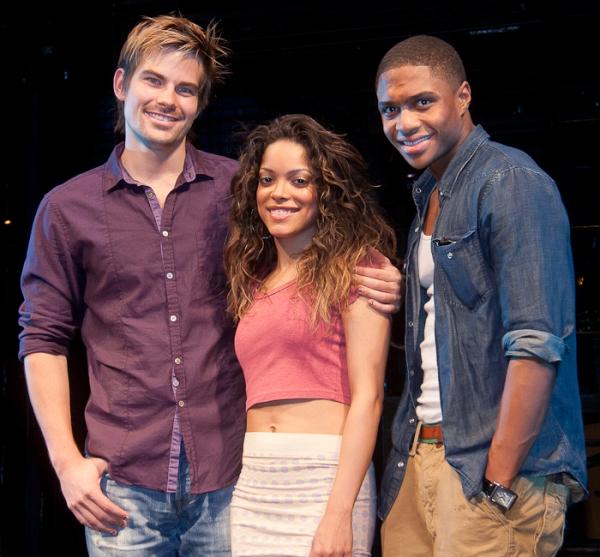Matt Shingledecker, Arianda Fernandez, and Ephraim Sykes Photo