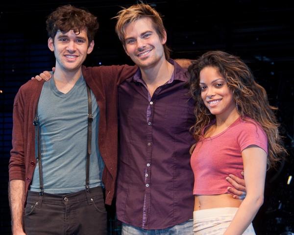 Adam Chanler-Berat, Matt Shingledecker, and Arianda Fernandez Photo