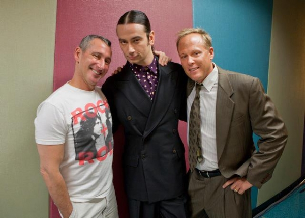 Adam Shankman, Constantine Maroulis, Matt Weaver at First Look at Constantine Maroulis in ROCK OF AGES Film!