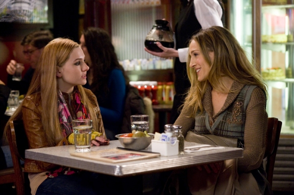 Photo Flash: First Look at Lea Michele, Sarah Jessica Parker in NEW YEAR'S EVE Film!