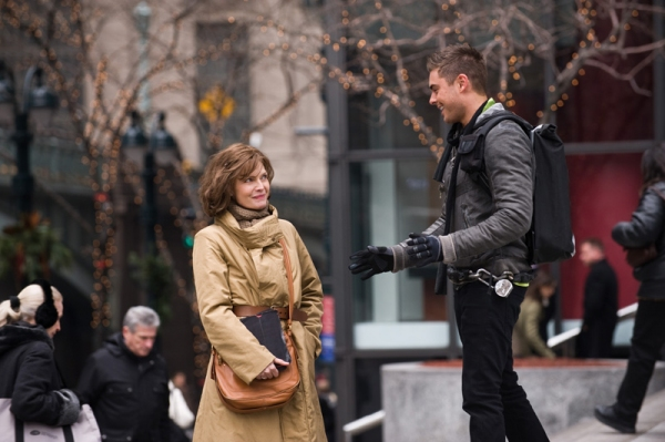 Michelle Pheifer, Zac Efron at First Look at Lea Michele, Sarah Jessica Parker in NEW YEAR'S EVE Film!