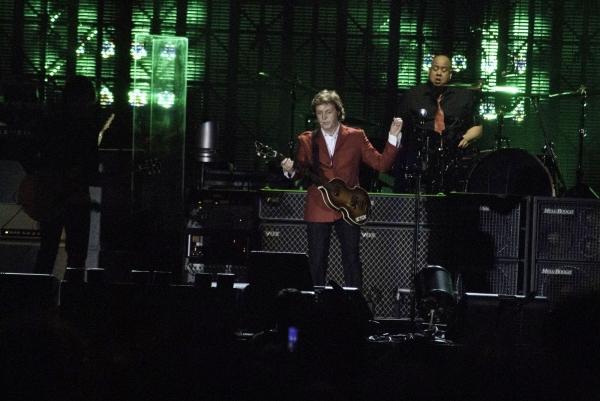 Paul McCartney at Paul McCartney Performs at Wrigley Field