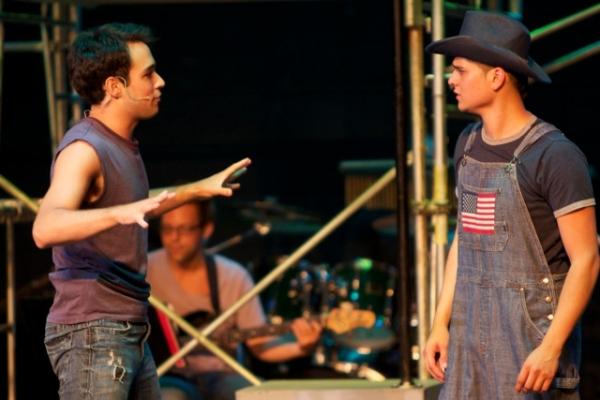 Andrew Meyer and Julio Gonzalez Photo