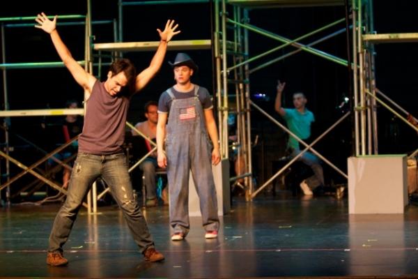 """Andrew Meyer as """"Ren"""" and Julio Gonzalez"""
