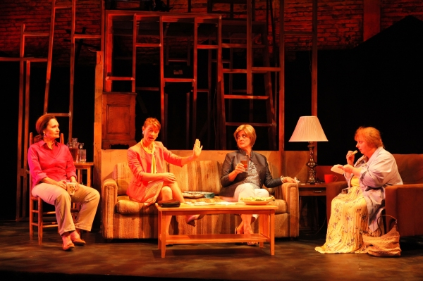 Beth Grant, Julie Jesneck, Marty Testa, Jodie Lynne McClintock Photo