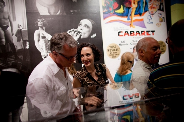 Bebe Neuwirth and her husband, Chris Calkins