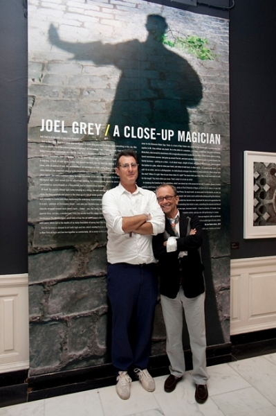 John Robin Baitz and Joel Grey