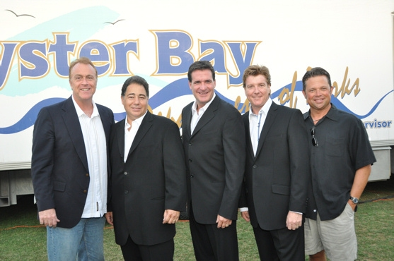 Sean Casey (CMI Entertainment), Daniel Rodriguez, Michael Amante, Andy Cooney and Vincent Mitchell (CMI Entertainment)