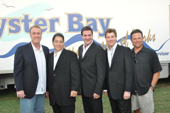 Sean Casey (CMI Entertainment), Daniel Rodriguez, Michael Amante, Andy Cooney and Vincent Mitchell (CMI Entertainment)