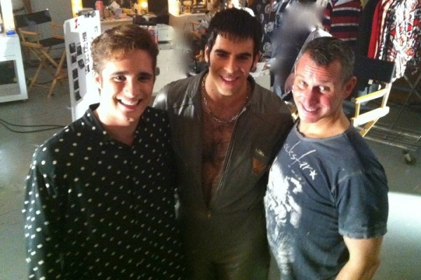 Photo Flash: First Look at Eli Roth in ROCK OF AGES Film